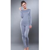 Комплект термобелья для девочек Guahoo: рубашка + лосины (261S/GY / 261P-GY)