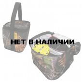Набор жерлиц зимних 10 шт. Тонар ЖЗ-04 в сумке, подставка 185, катушка 63 мм