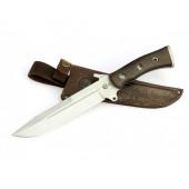 Нож туристический Ворсма Смерч, сталь 65х13, ценные породы дерева (кузница Семина)