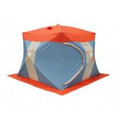 Палатка рыбака Нельма Куб-3 Люкс (двухслойная)