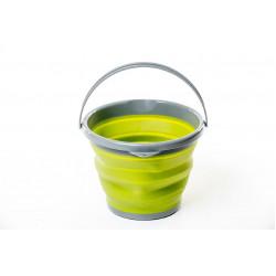 Ведро складное силиконовое Tramp 10л TRC-091 (оливковый)