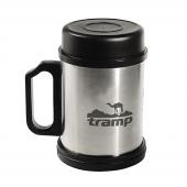Термокружка Tramp TRC-006 с крышкой и подставкой 300 мл
