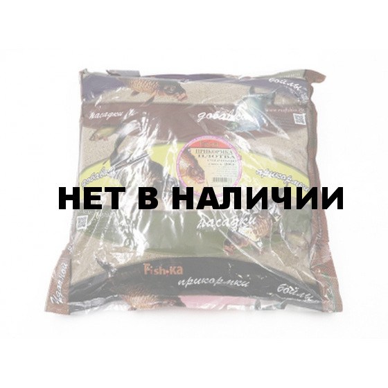 Прикормка Fish.ka Плотва Черный, смесь 3кг (168)