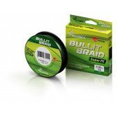 Леска плетеная Allvega Bullit Braid 92м 0,18мм (12,2кг) темно-зеленая