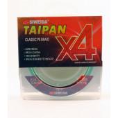 Леска плетеная Siweida Taipan Classic PE Braid X4 135м 0,20мм (11,40кг) светло-зеленая