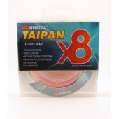 Леска плетеная Siweida Taipan Elite PE Braid X8 135м 0,25мм (15,91кг) мультиколор