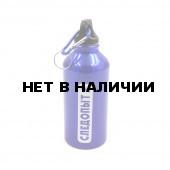 Бутылка питьевая алюминиевая Следопыт с карабином 400 мл PF-BD-A400