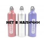 Бутылка питьевая алюминиевая Следопыт с карабином 750 мл PF-BD-A750