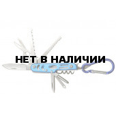 Мультитул Следопыт с карабином 12 предметов PF-MT-03