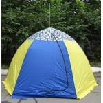 Палатка рыбака с брезентом Стэк-3 (п/автомат)