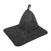 Набор для бани Hot Pot (шапка, коврик) 41183