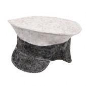 Шапка для бани Hot Pot Фуражка комби (войлок) 41205