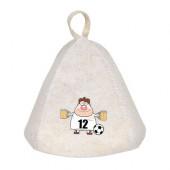 Шапка для бани Hot Pot Игрок 12 (войлок) 41235