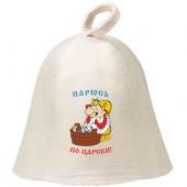 Шапка для бани Hot Pot Парюсь по-царски (войлок) 41256