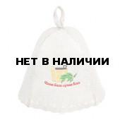 Шапка для бани Hot Pot Наша баня - лучше всех (войлок) 41165