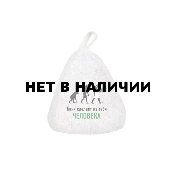 Шапка для бани Hot Pot Баня сделает из тебя человека (войлок) 41195