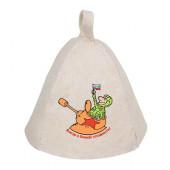 Шапка для бани Hot Pot Всегда в боевой готовности (войлок) 41196