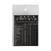 Магнит-шпаргалка Marmiton Таблица меры и веса продуктов 16174