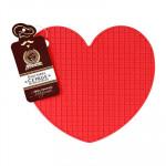 Подставка термостойкая силиконовая Marmiton Сердце 17207