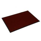 Коврик грязезащитный Vortex 60*90 см красный 22089