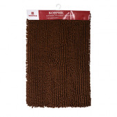 Коврик для ванной Vortex Spa comfort 60х90 см коричневый 24141
