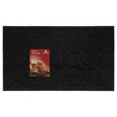 Коврик резиновый придверный Vortex Узор 35х60 см черный 22461