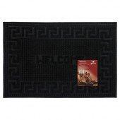 Коврик резиновый придверный Vortex Welcome 40х60 см черный 22464