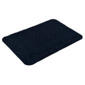 Коврик придверный Vortex Comfort Добро пожаловать, без подложки 40х60 см синий 24115