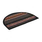 Коврик придверный Vortex Comfort полукруг 45х75 см серый 22387