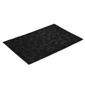 Коврик придверный Vortex Greek на резиновой подложке 40х60 см черный 20102