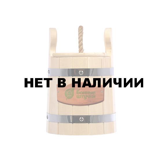 Кадка для воды и солений Банные Штучки с крышкой и гнетом липа 3 л 32700