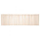 Коврик для бани деревянный Банные Штучки липовая рейка 50х150 см 34001