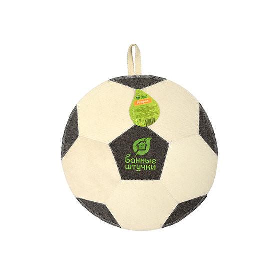 Коврик для бани Банные Штучки Футбольный мяч войлок 40140