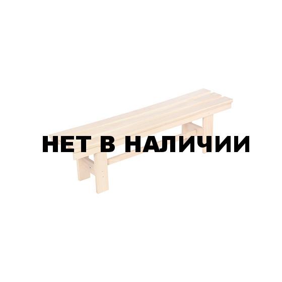 Лавочка разборная Банные Штучки липа 140х33х43 см 3687