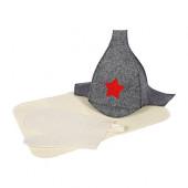 Набор для бани Банные Штучки (шапка, рукавица, коврик) 41096