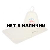 Набор для бани Банные Штучки (шапка, рукавица, коврик) 41089