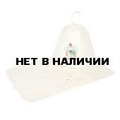 Набор для бани Банные Штучки (шапка, рукавица, коврик) 41084