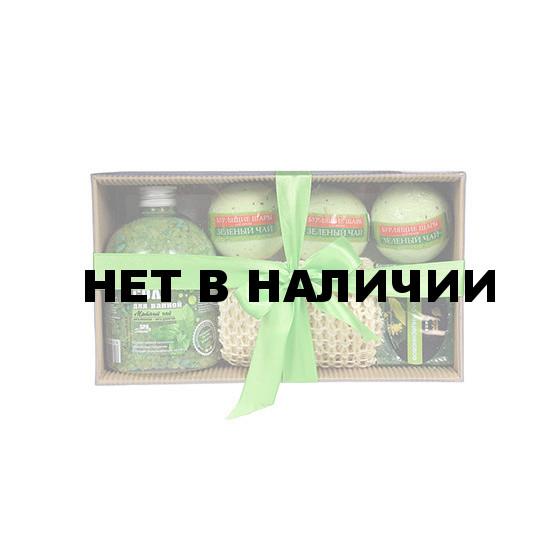 Подарочный набор Банные Штучки Мятный релакс 6 предметов 41372