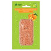 Соляная плитка с эфирным маслом Банные Штучки Апельсин 200 г 32407