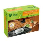 Соляной брикет с травами Банные Штучки Эвкалипт 1300 г 32255