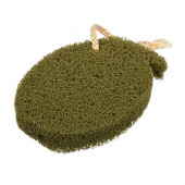 Спонж для пилинга с водорослями Банные Штучки 14х10х2 см 40191