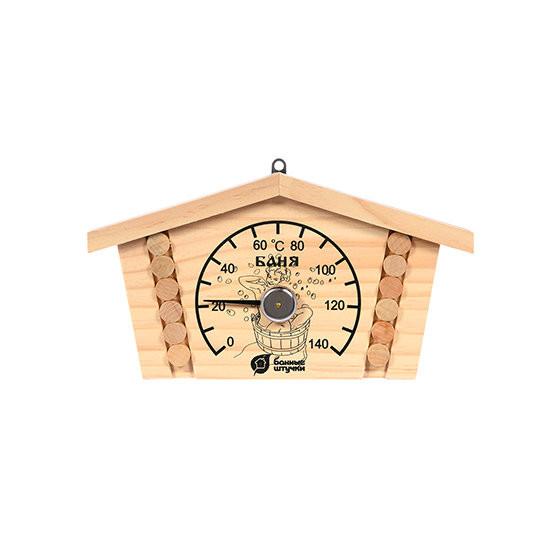 Термометр для бани и сауны Банные Штучки Избушка 18014