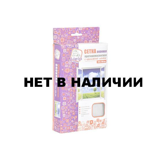Противомоскитная сетка Help с крепежной лентой 110х130см 80001