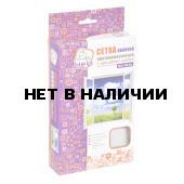 Противомоскитная сетка Help с крепежной лентой 130х150см 80002