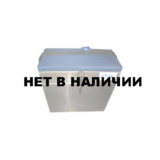 Ящик алюминиевый 2-х секционный (Стэк)