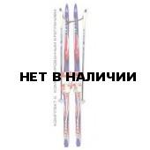 Беговые лыжи STC детские (лыжи, крепления комбинированные, палки) 130 см