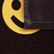 Коврик придверный пористый Vortex 40*60 Home коричневый 22405