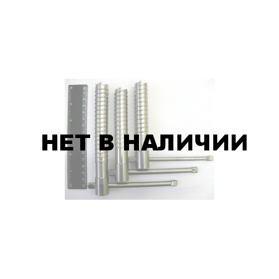 Ввертыш (130х2х20 мм, ручка d8, нержавеющ. сталь)