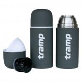 Термос Tramp Soft Touch 1 л серый TRC-109