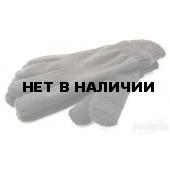 Перчатка х/б двойная черная (1шт)